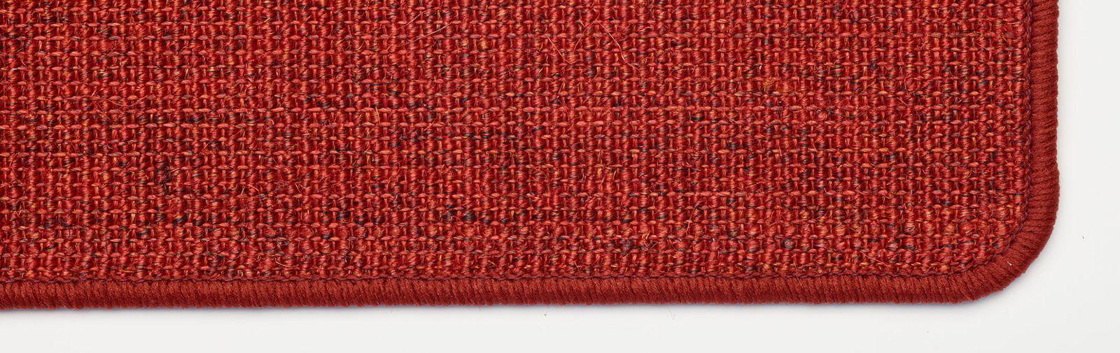 tapis d'église sisal couleur rouge code couleur 7401