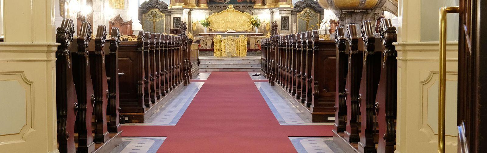 tapis d'église Perlon Rips Michel Hamburg