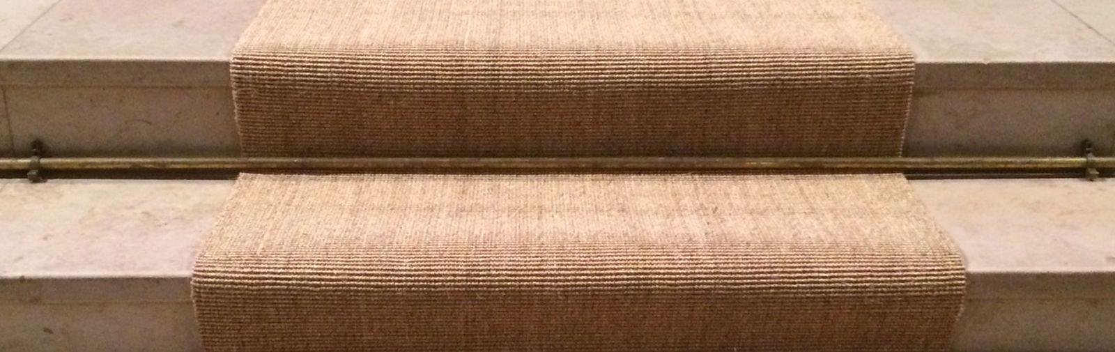 tapis d'église fibre naturelle sisal
