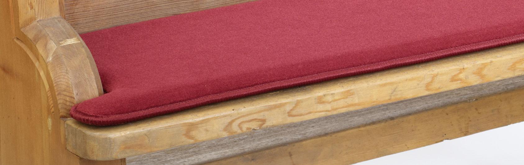 banque échantillon coussin Sitzplush code couleur 141 couleur rouge