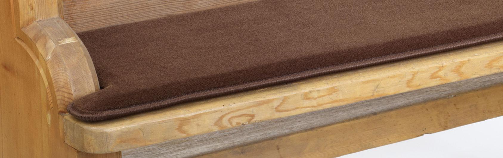 banque échantillon coussin Sitzplush code couleur 178 couleur brun foncé