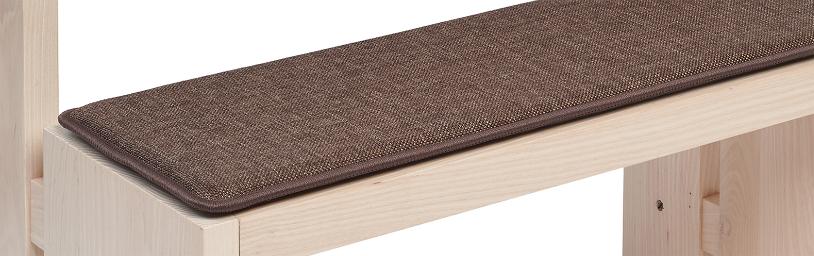 banque échantillon coussin Bankauflage Verano code couleur 629 couleur brun