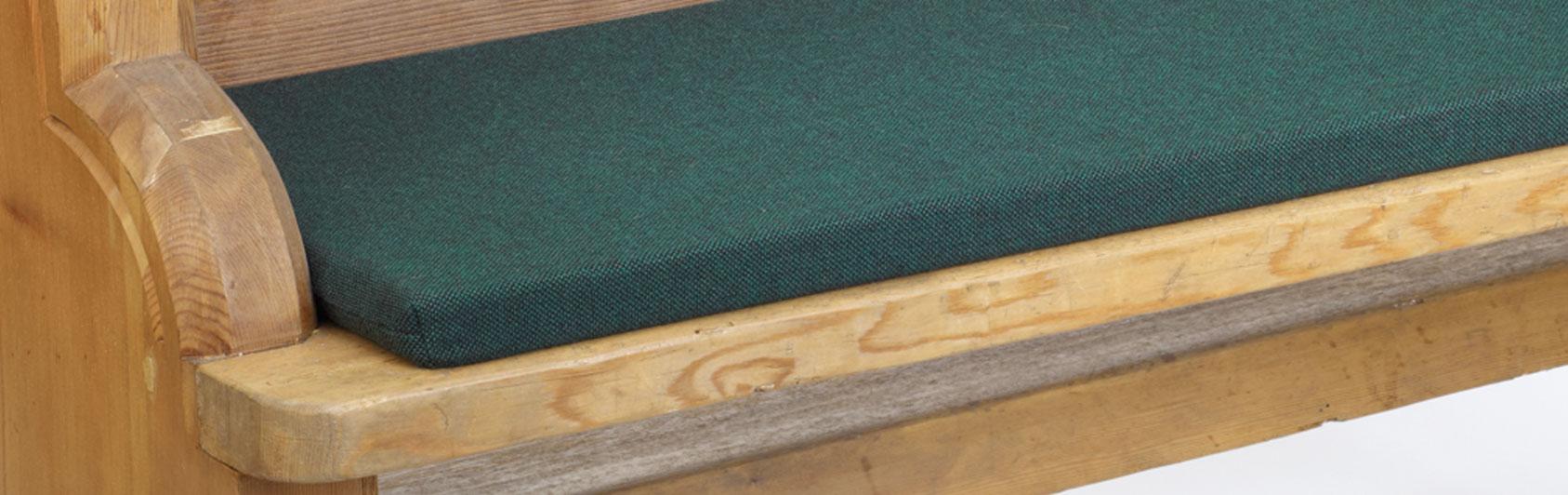 banque échantillon coussin Bankauflage Simplex code couleur 7105 coleur vert foncé