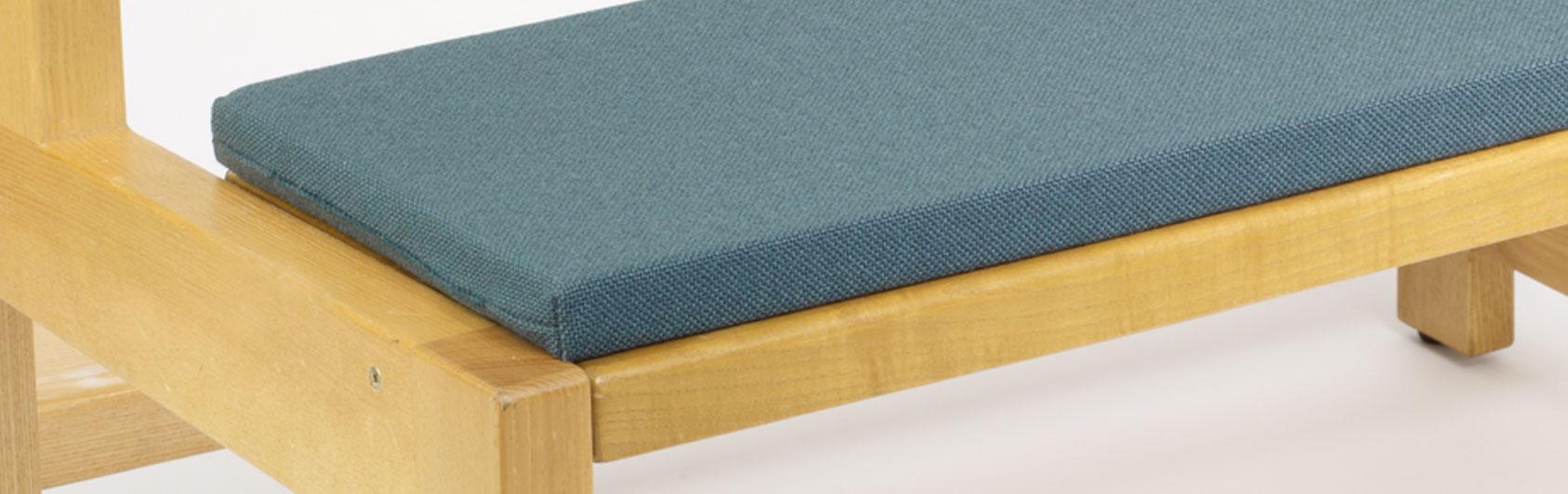 banque échantillon coussin Bankauflage Simplex code couleur 7108 coleur turquoise