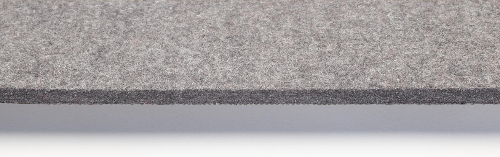 coussin qualité feutre couleur grise