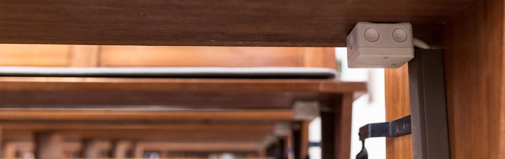 boîte à bornes coussin chauffant Thermoplush 230 Volt