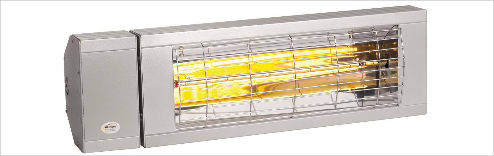 chauffage rayonnant infrarouge IP24