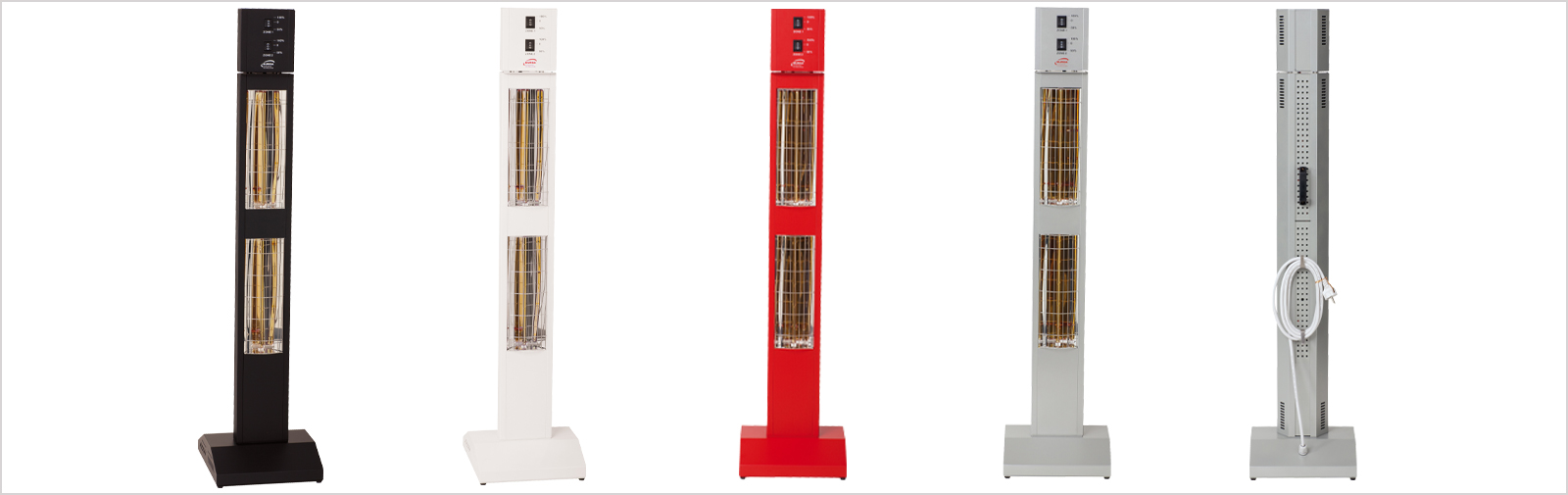 chauffages stationnement infrarouges Smart Tower IP24