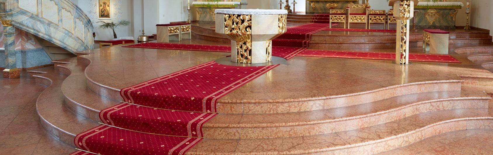 tapis d'église Capitol Lisdorf