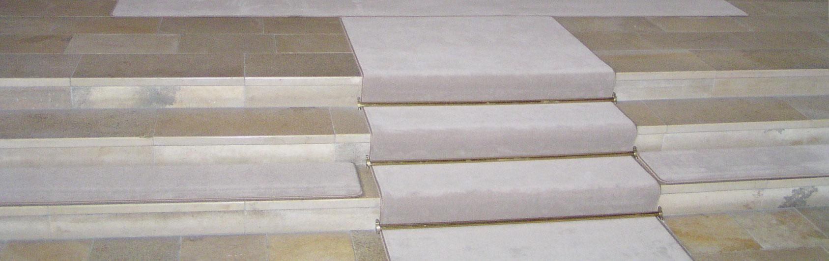 tapis d'église velours