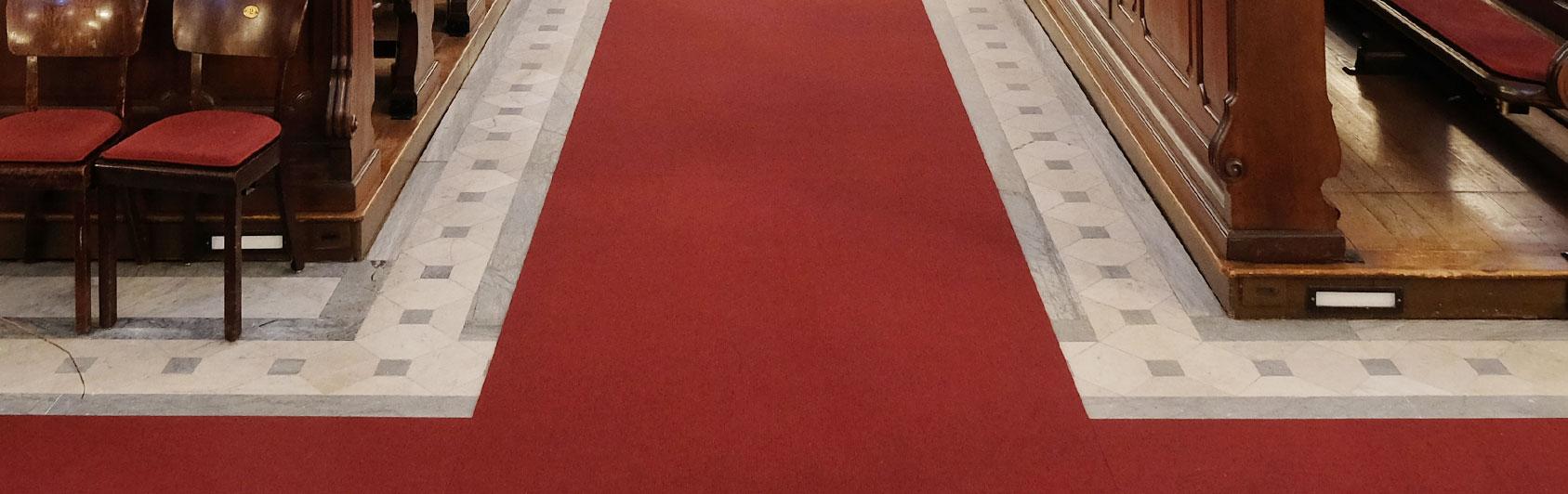 tapis d'église Perlon Rips