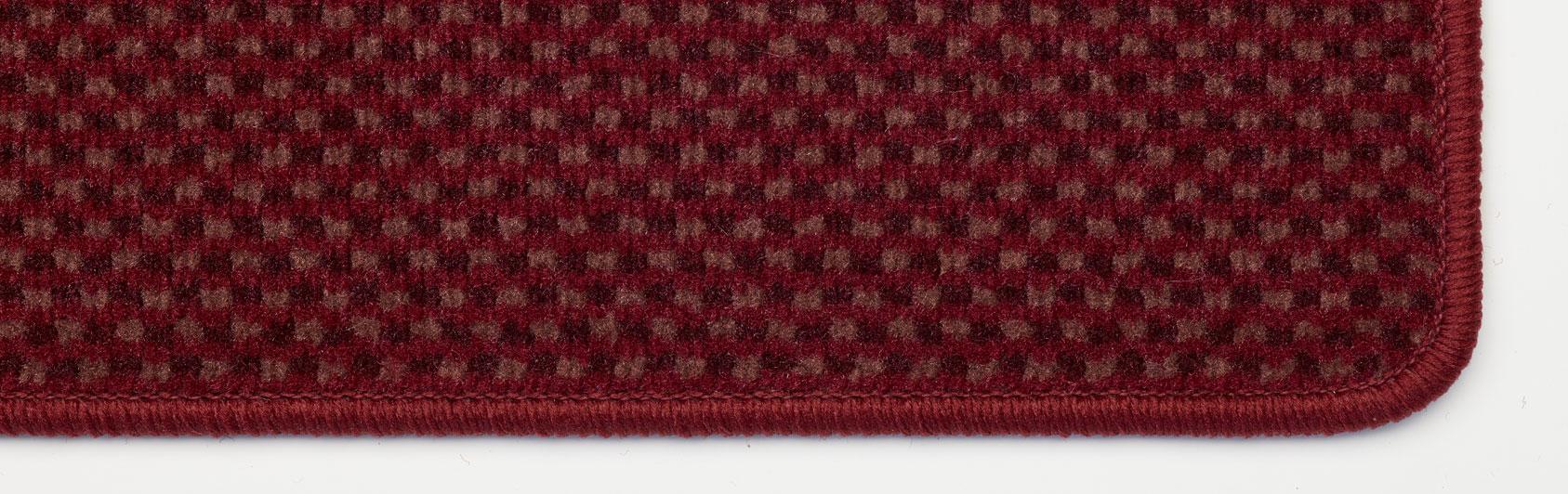 paillassons robusta couleur rouge foncé couleur code 355